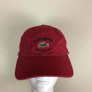 Lacoste Hat Adjustable Strap OSFM